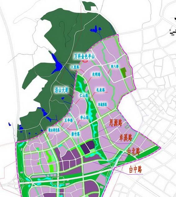 南审校园手绘地图