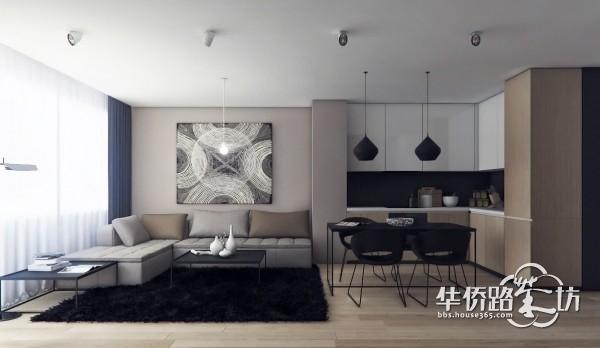 26个国外现代客厅设计案例图片参考
