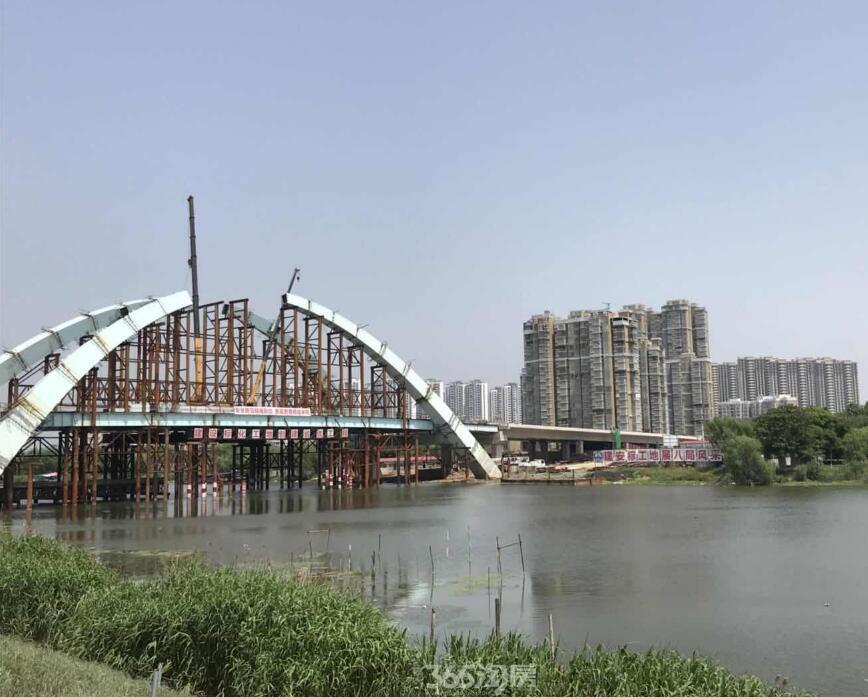 解放北路泉河桥即将建设完毕,先睹为快!