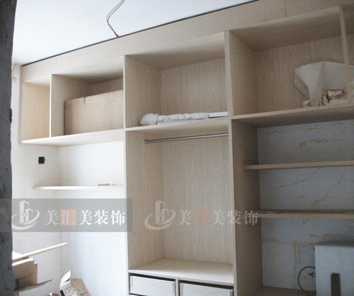 e0级木工板贴面柜体,九夹板贴面背板