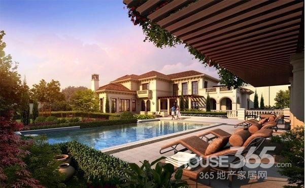 中式靠山别墅设计