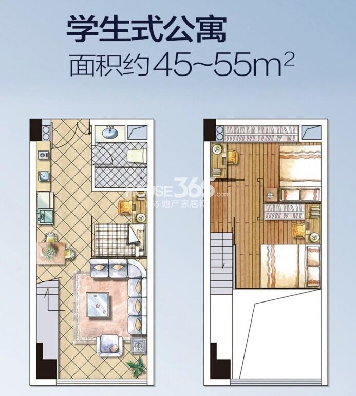 40平米公寓裝修平面圖