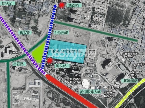 众邦金水湾1号院交通图