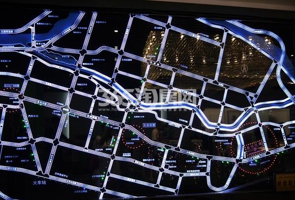 鹏博金城珑园交通图