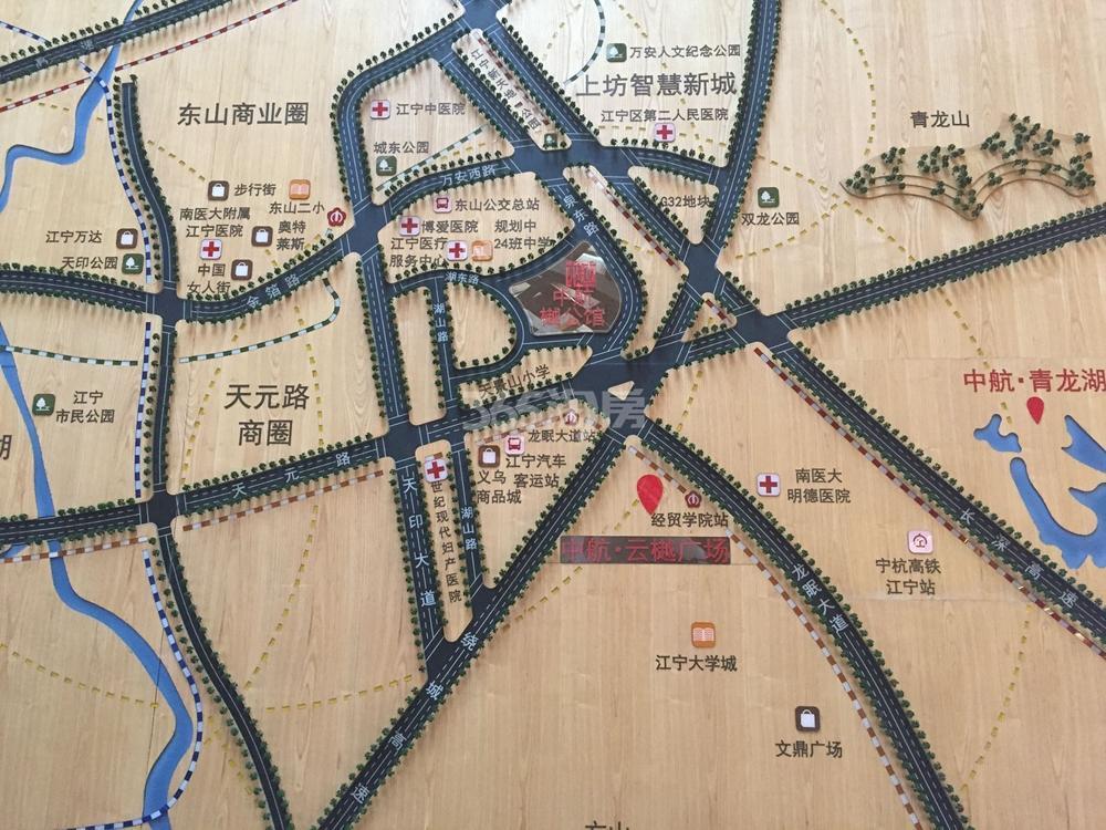 中航樾广场区位图