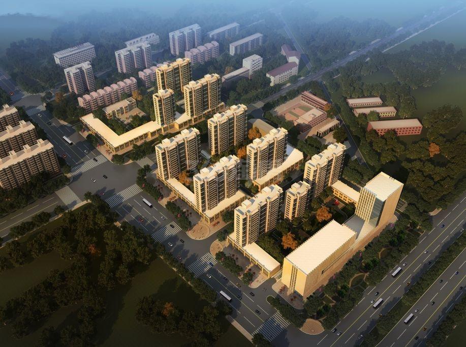 龙城2011鸟瞰图