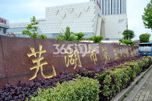 项目西北边750米芜湖市第五人民医院