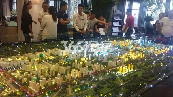 孔雀城创领小区沙盘图