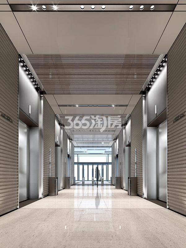 新合作中商大厦首层电梯厅