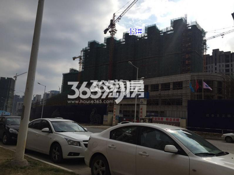 高科荣境在建楼栋实景图(3.10)