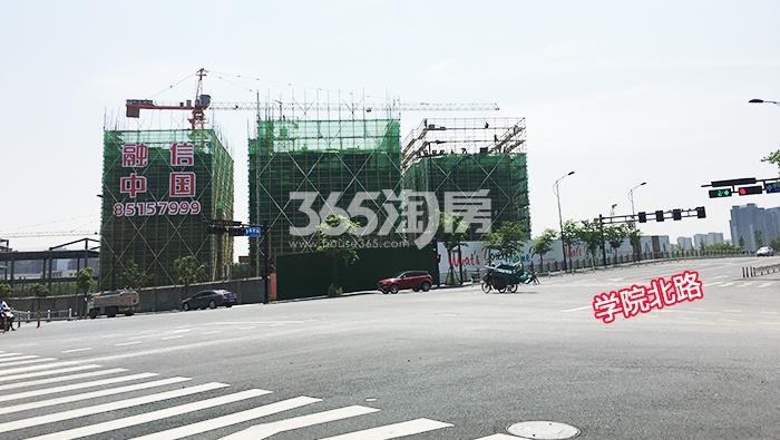 2017年6月初融信公馆ARC远拍图