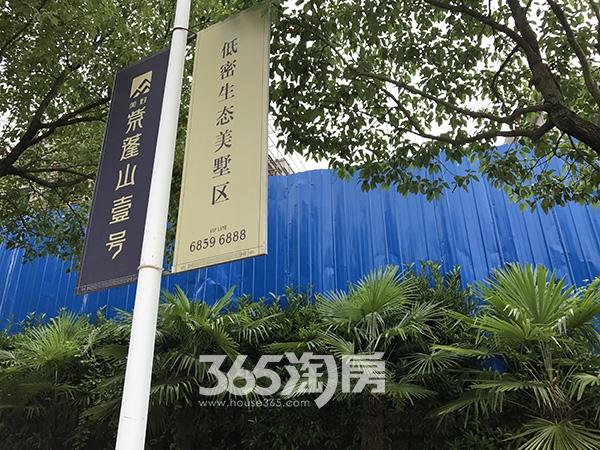 美好紫蓬山壹号广告牌实景图(2017.6.21)