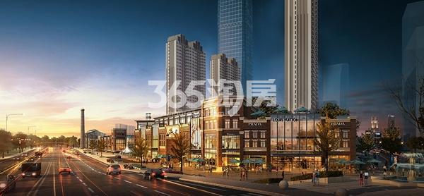 绿地西水东中央生活区商业效果图