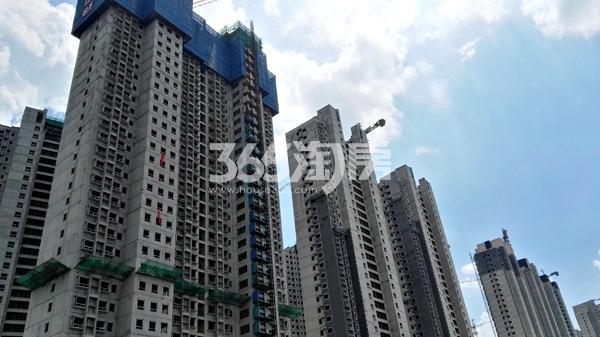 荣盛城一二期工程实景图(7.13)