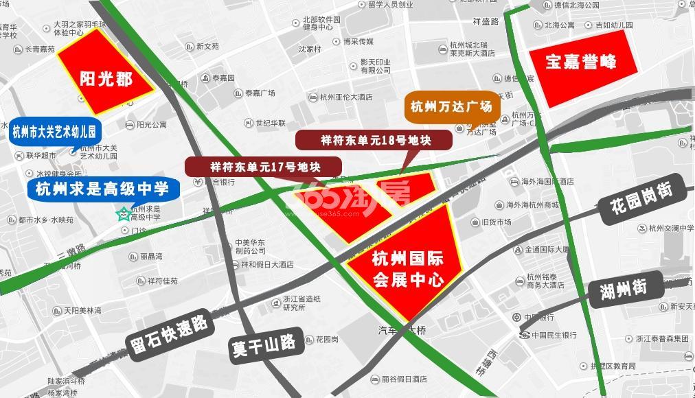中尚汇府交通图