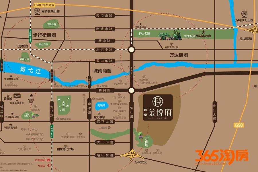 伟星金悦府交通区位图