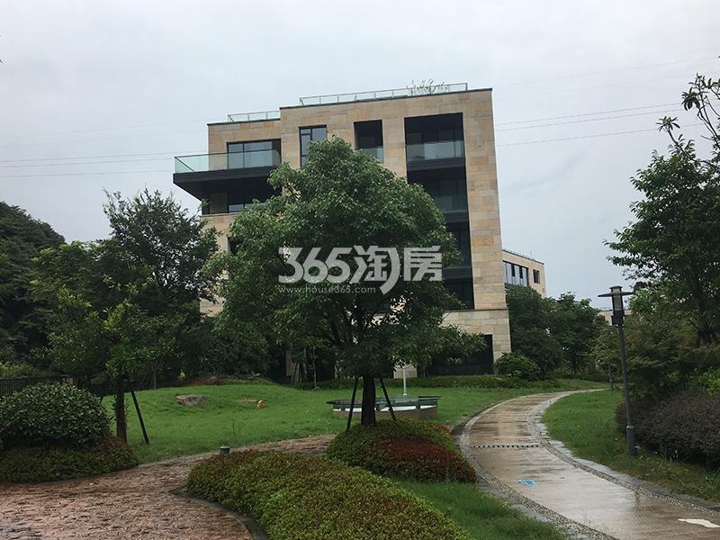 西溪十九府项目园区实景图(2017.9)