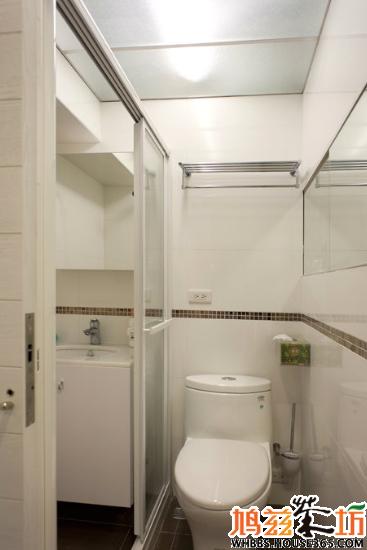 小户型浴室设计参考,总有一款是你喜欢的